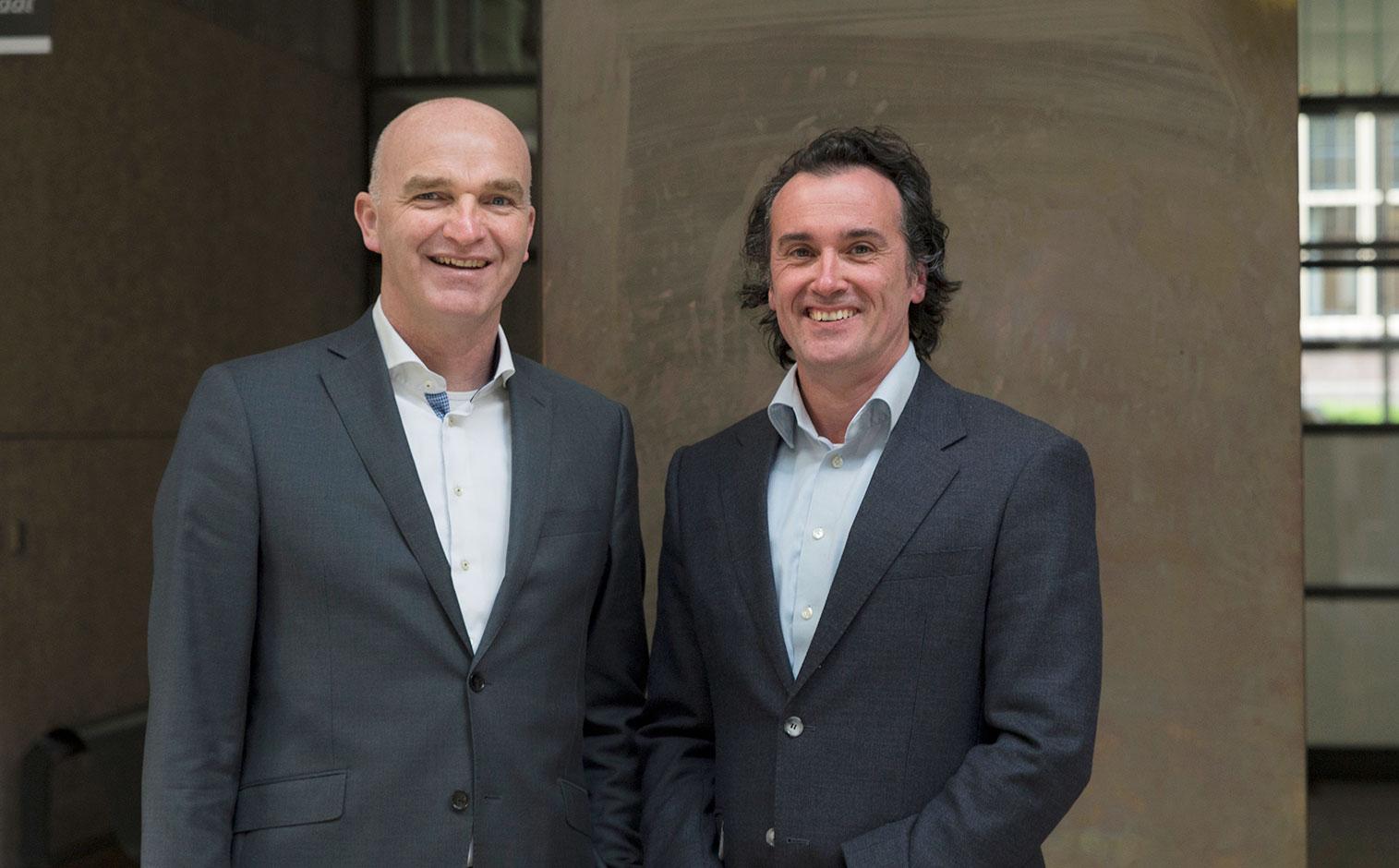 Marcel Kooi en Erwin Bel